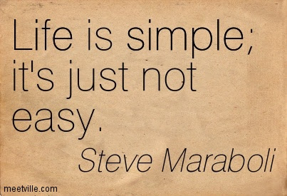 Quotes About Not Easy Life 104 Quotes