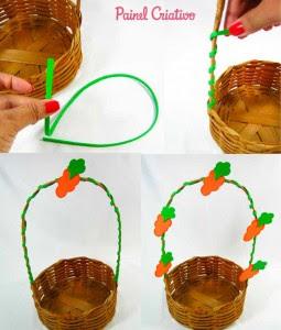 como fazer cesta pascoa coelhinho eva decorada (1)