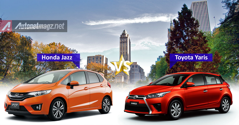 Komparasi Perbandingan Toyota Yaris TRD Sportivo Vs Honda Jazz RS