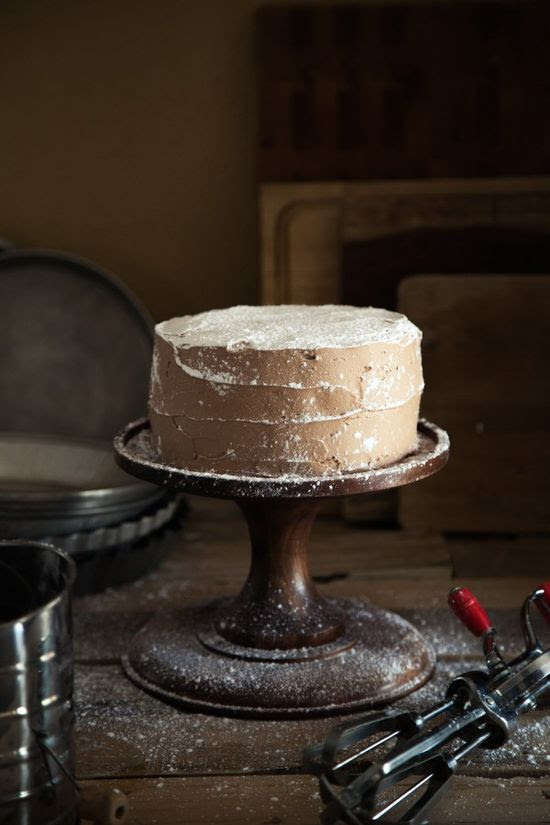 Brownie Mousse Cake by @rvank