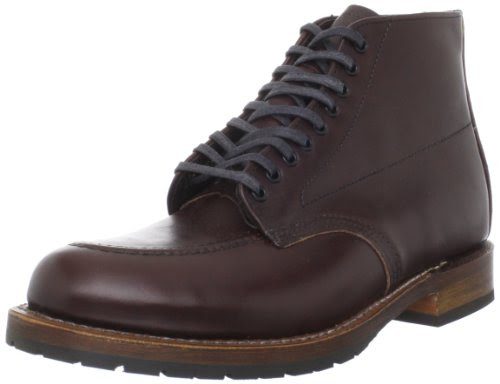 Red Wing Heritage Men's Beckman 6-Inch Embossed Moc Toe Boot,Antique Cigar,10.5 D US