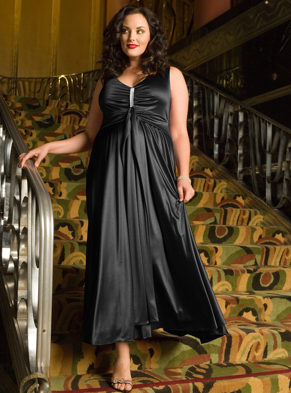Dresses evening plus size