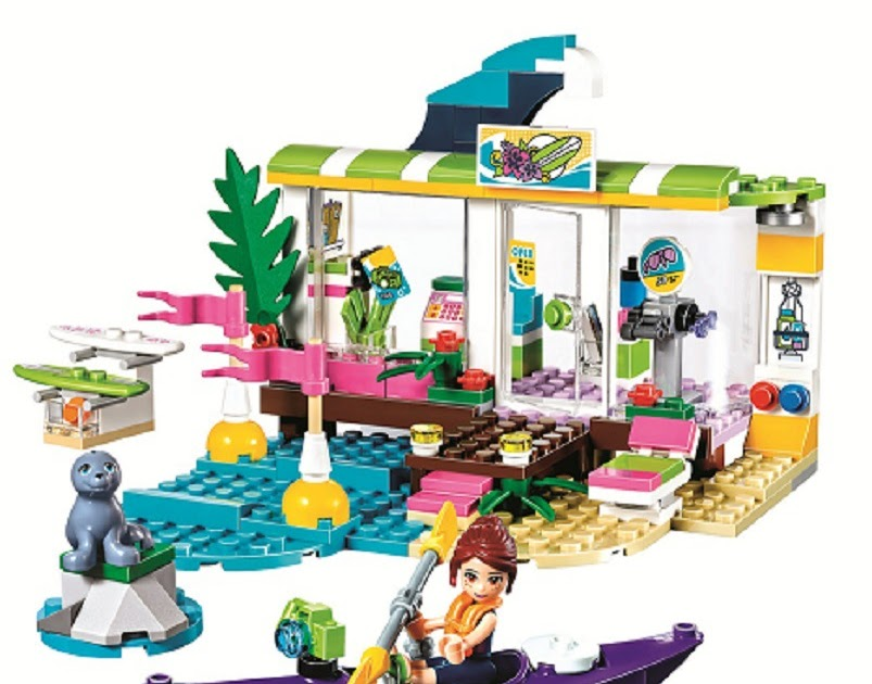 Achat 10757 Friends Heartlake Surf Shop Compatible With Legoings