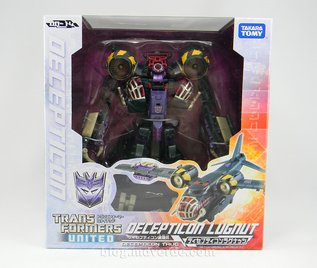 Transformers Lugnut United Voyager - caja