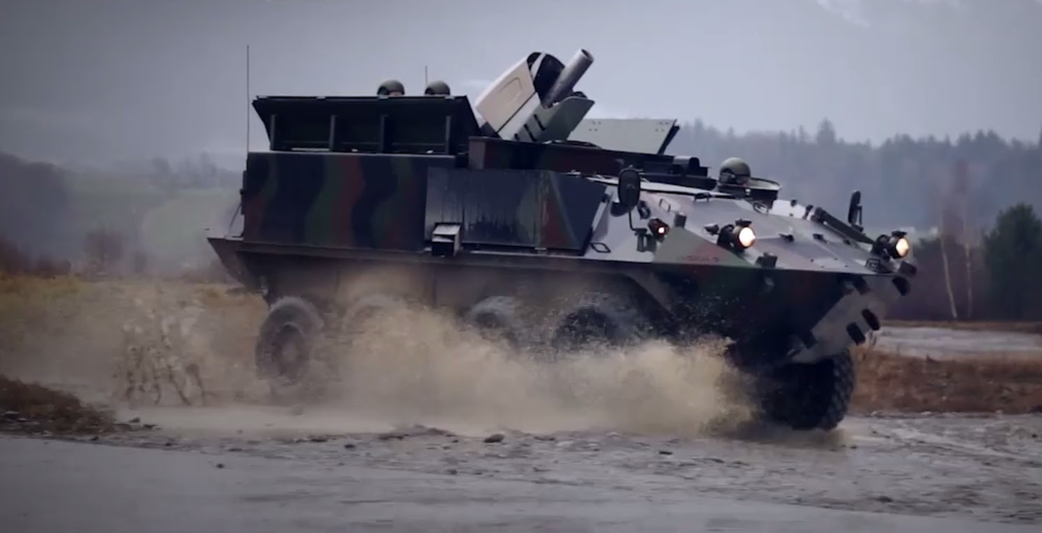Resultado de imagen para Cobra de 120 mm de RUAG Defensa