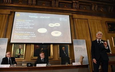 El bagel, el ejemplo que usó el Comité Nobel para explicar el galardón. (AFP)