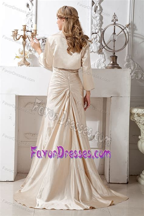 Princess Sweetheart Beading Mother in Law Dresses in Taffeta