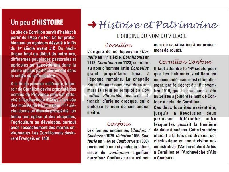 Cornillon Confoux...balade en Provence