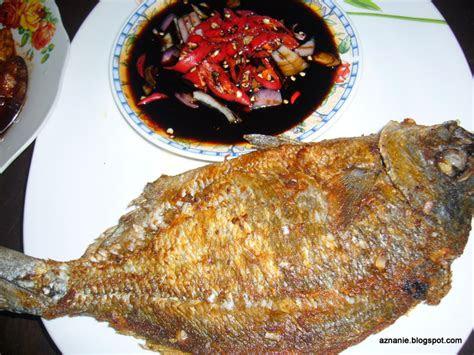 tentang  resepi ikan goreng cicah sambal hiris kicap