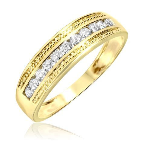Amazing mens gold wedding bands under 100   Matvuk.Com