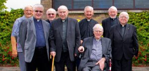 Fr Paddy Foley CSSP seated front row second from right.