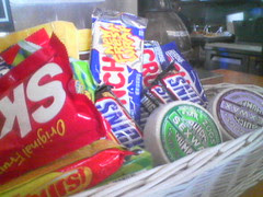 snacks and wax