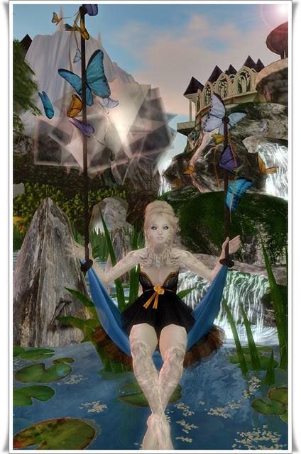 {Mole End} Sweet Nectar (Wearable) Swing - Iris