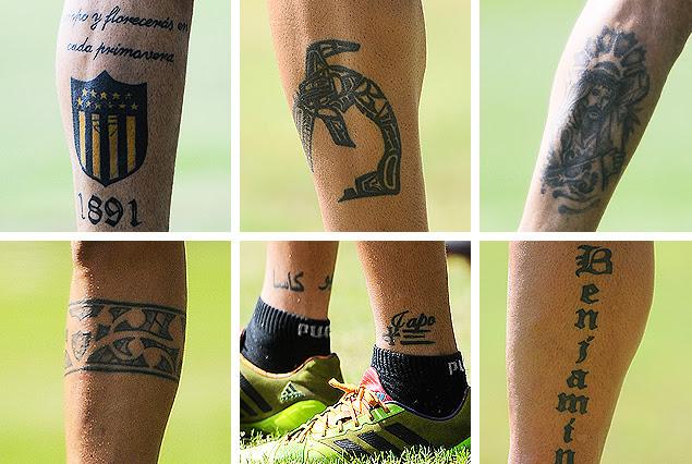 Tenfieldcom Los Tatuajes Que Llevan Grabados A Fuego En Sus