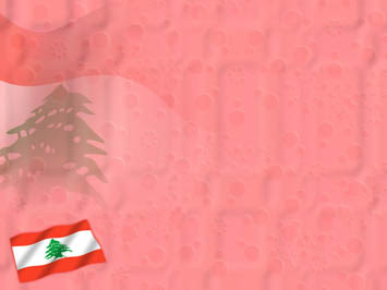 Lebanon Flag 01 Powerpoint Templates