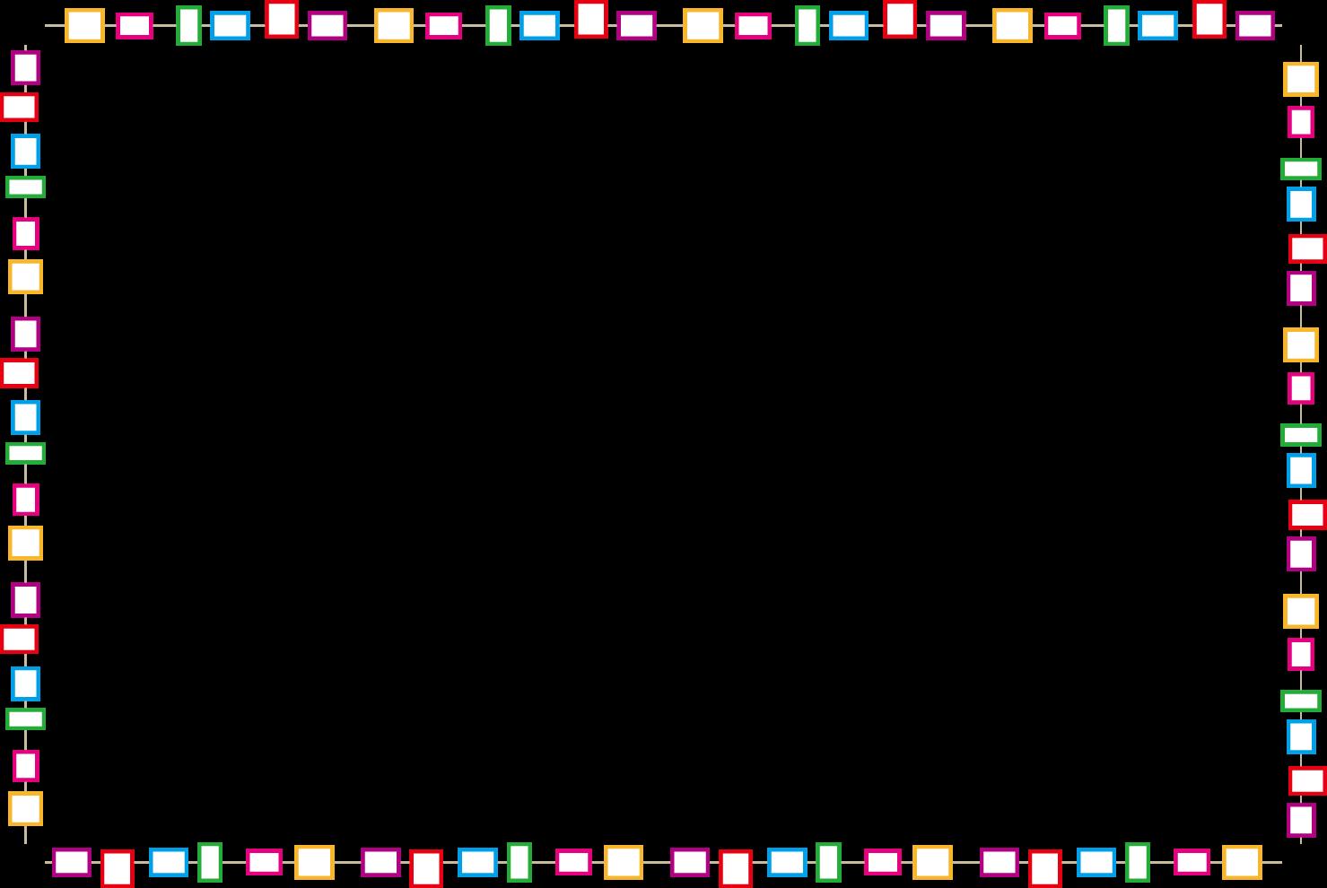 イラスト枠飾り線無料イラスト素材