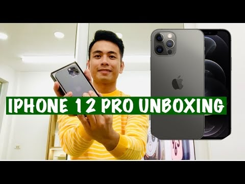 Iphone 12 Pro and Iphone 12 Pro Max Unboxing