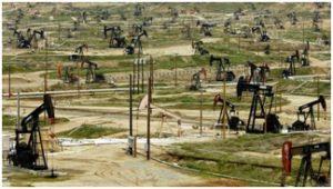 các cụm bơm dầu trên đất liền của Mỹ