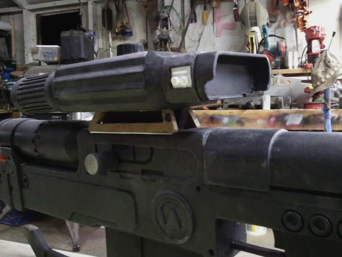 Sniper rifle details