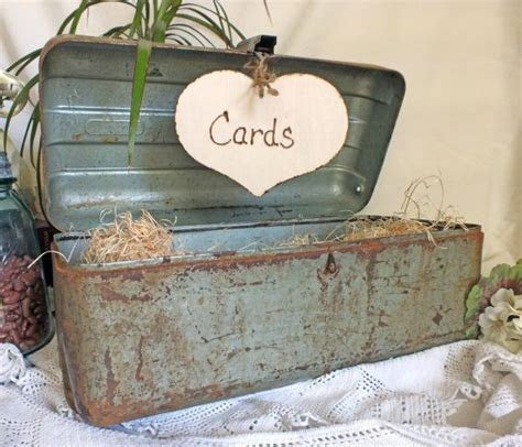 fishing wedding card box   Wedding Card Box Vintage