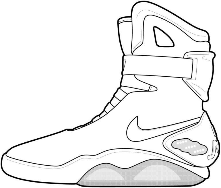 - Retro Jordans Coloring Pages - Retro Future