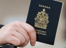 Passenger, Canadian Passport, ID