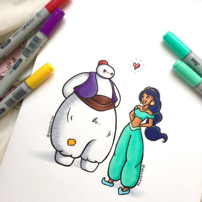 dibujos-baymax-personajes-disney-demetria-skye (11)