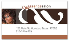 BCS-1121 - salon business card