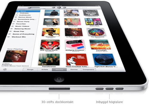 Apple - iPad - Design - En revolutionerande Multi-Touch-enhet.