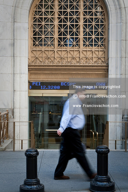 New York Stock Exchange  Stock photos by Francis Vachon