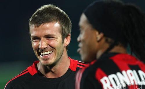 David Beckham & Ronaldinho