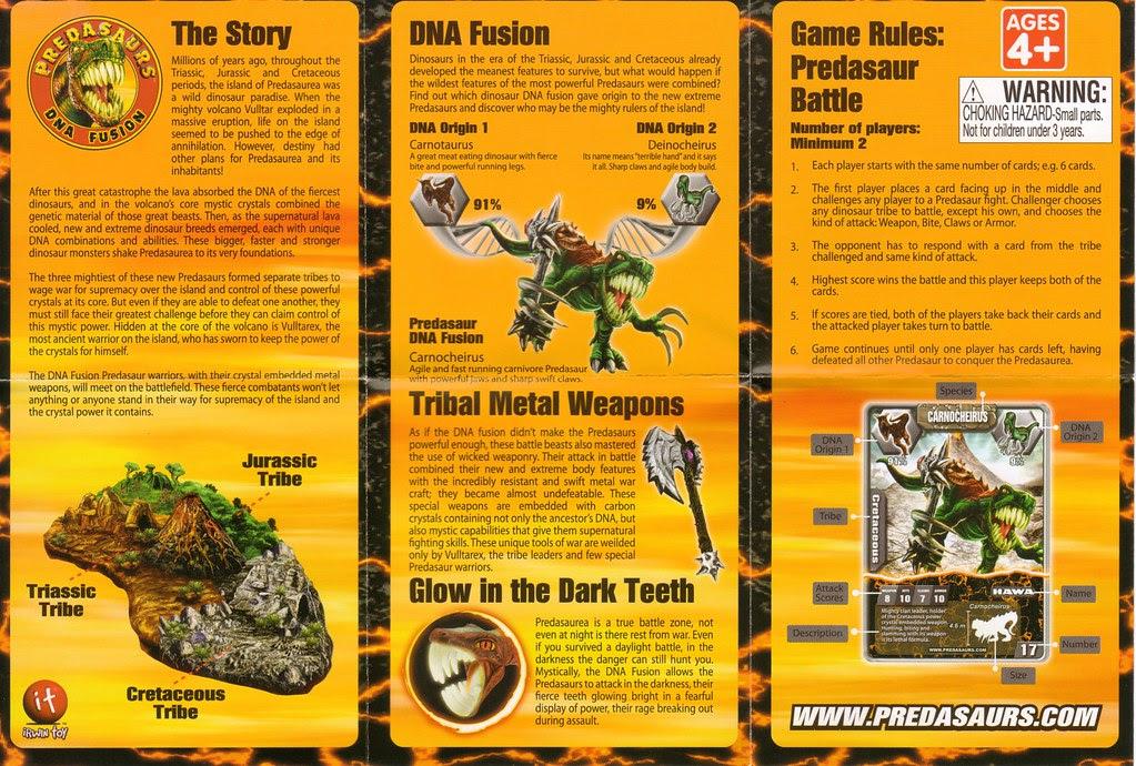 Predasaurs story