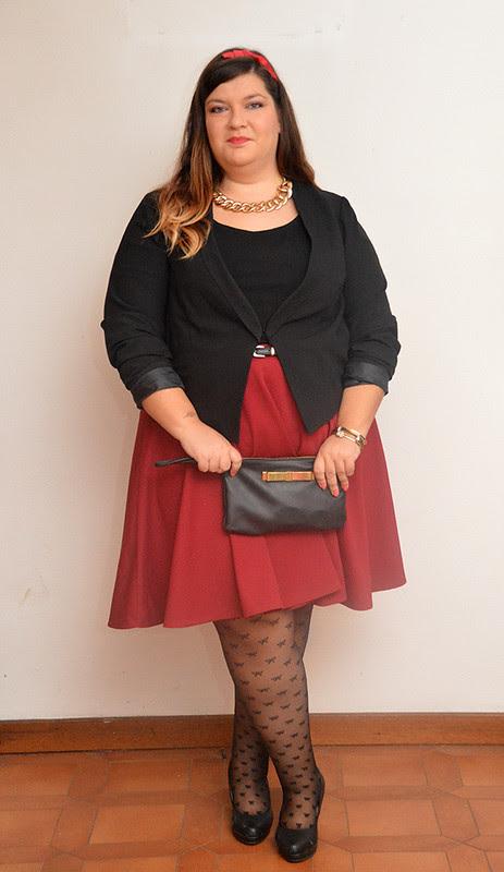 outfit borgogna e nero3