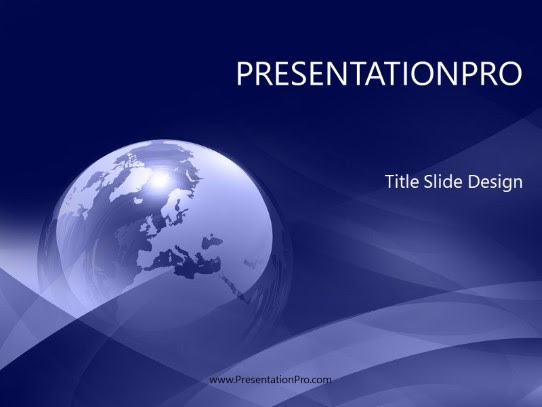 Europe Abstract Blue Powerpoint Template Background In Global Powerpoint Ppt Slide Design Category The Best Powerpoint Templates And Backgrounds At Presentationpro Com
