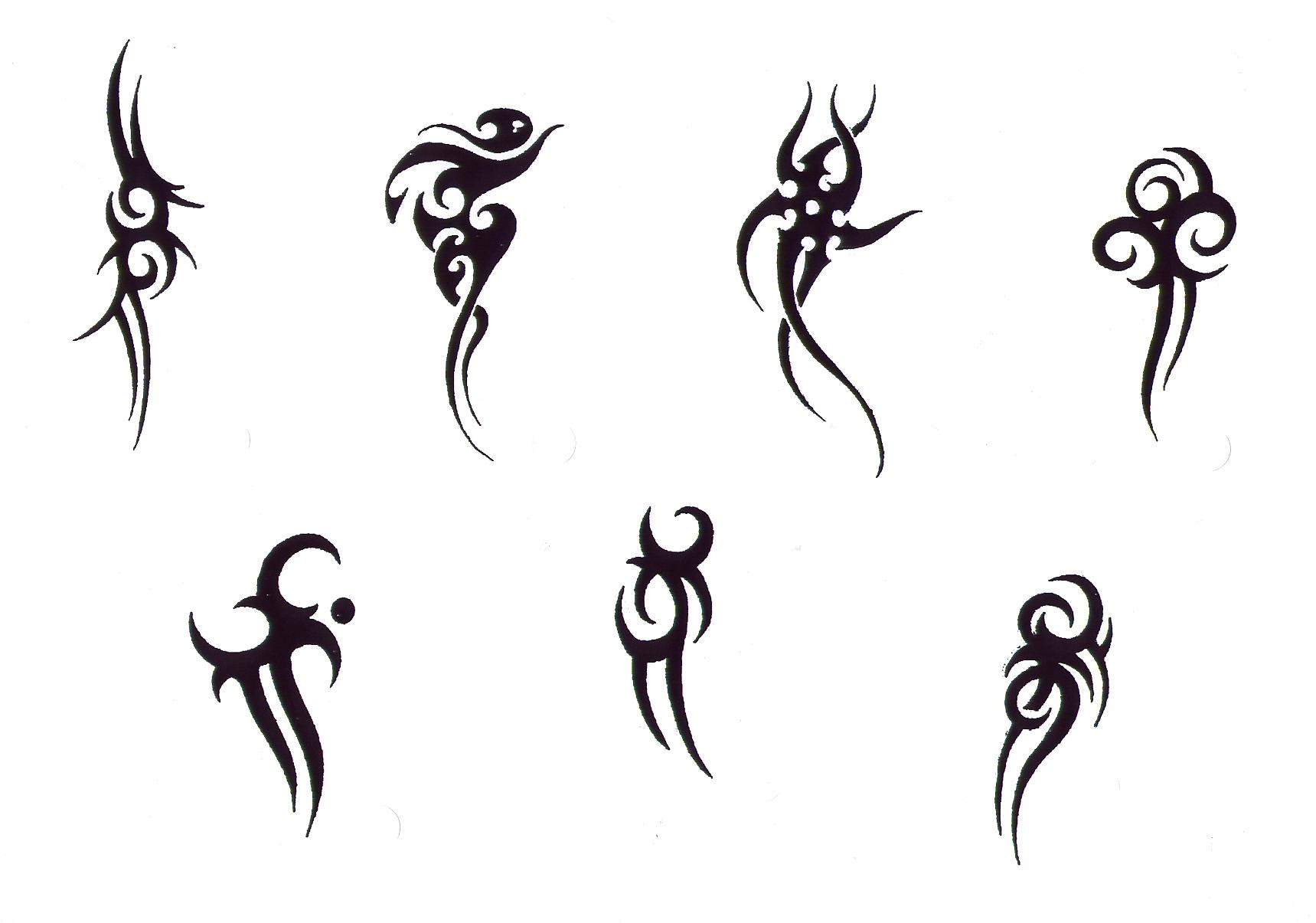 Small Tribal Tattoos Designs