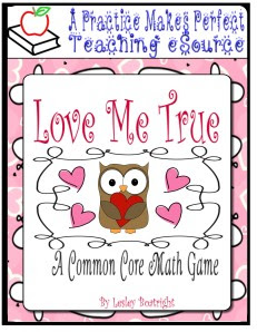 Love Me True - A Common Core Correlated Subtraction Game_Page_01