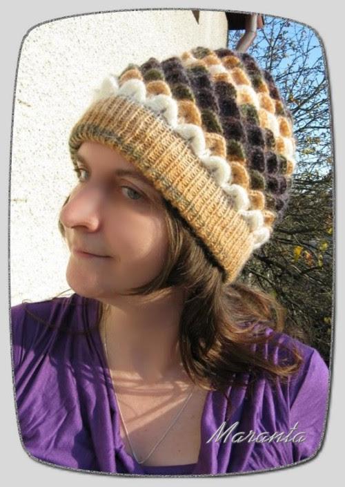 szydełkowa czapka i szalik