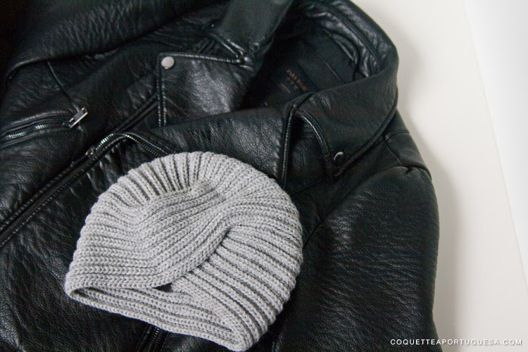 zara special price biker jacket turban turbante as