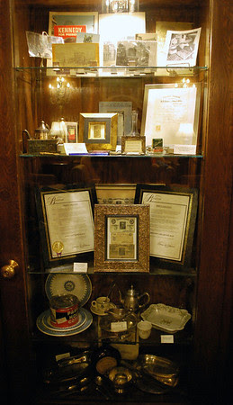 Parker House Artifacts and Memorabilia