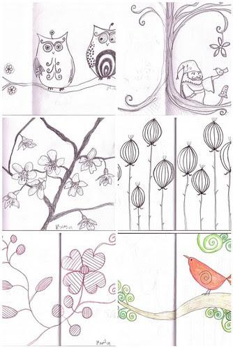 Sketchbook mosaic