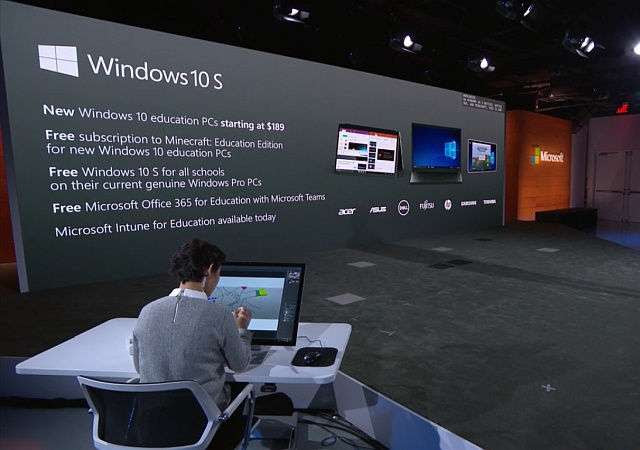 Windows 10 S showcased