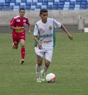Geovani marcou o primeiro gol do Dourado (Foto: Pedro Lima/Cuiabá)
