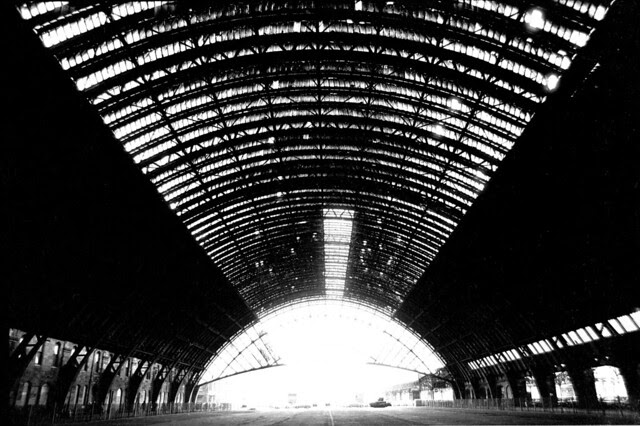 St Enoch Station roof 1973