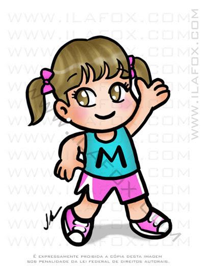 caricatura fofinha, caricatura menina,l caricatura infantil, caricatura bonita