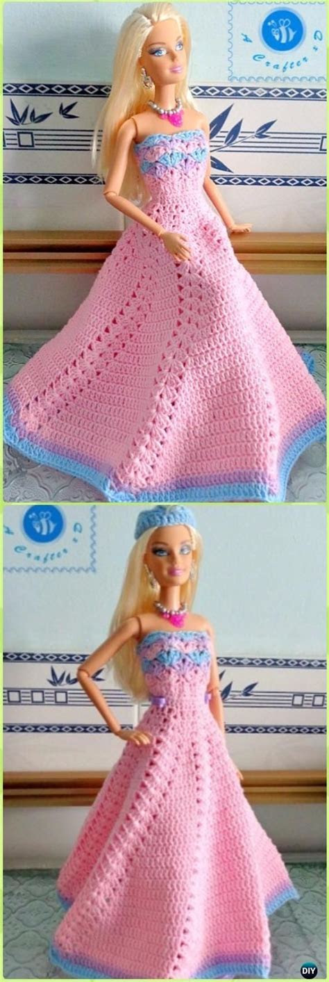 1106 best vestiti per barbie all'uncinetto images on