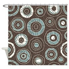 Brown Shower Curtains | Brown Fabric Shower Curtain Liner
