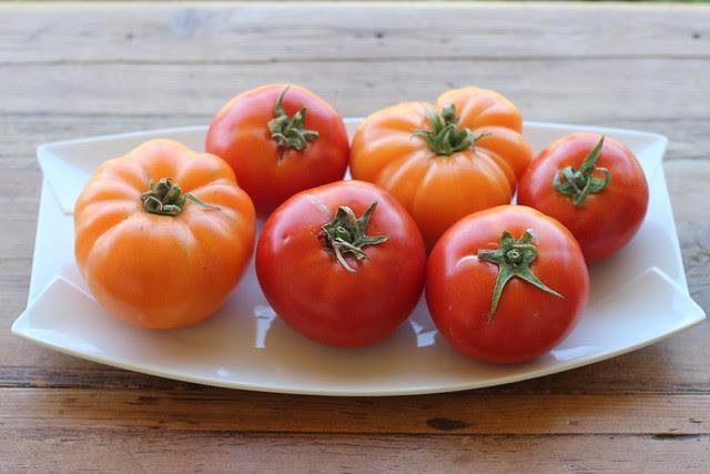 Tomatoes with Furikake