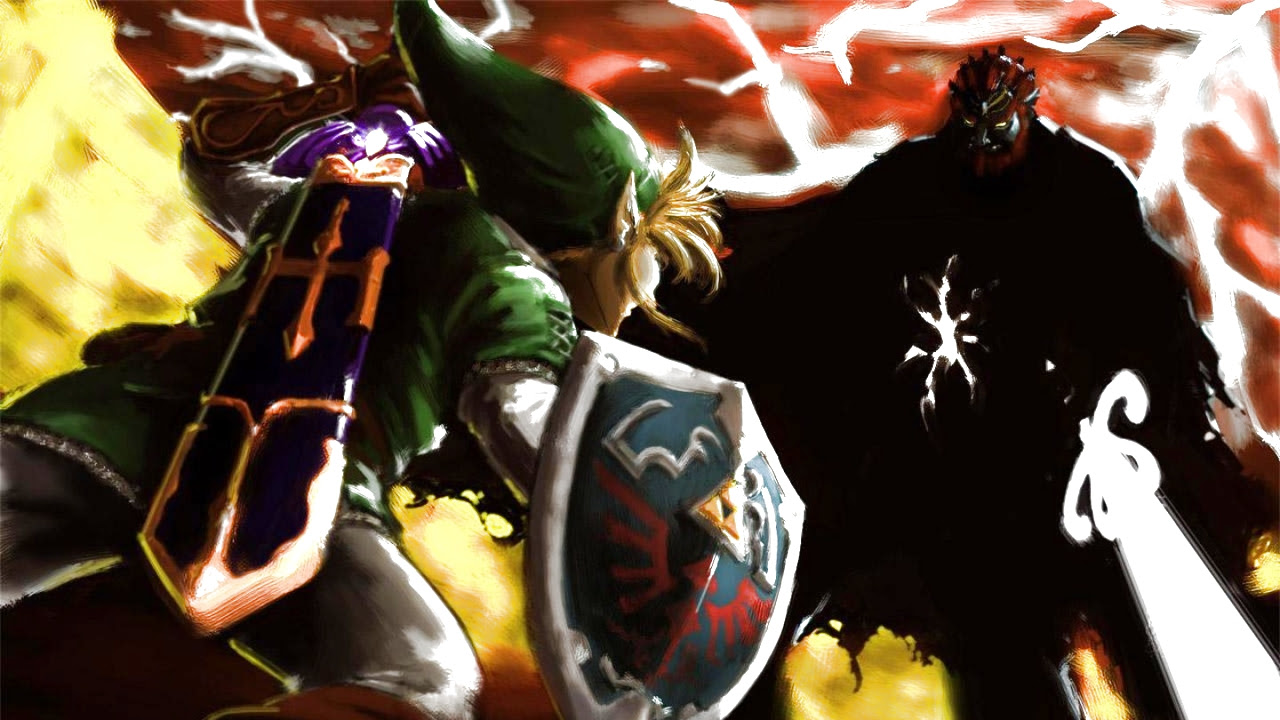 Legend Of Zelda Ocarina Of Time Wallpaper 1280x720