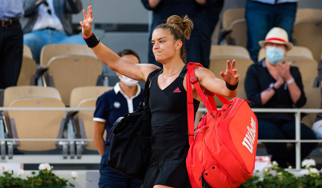 Maria Sakkari laments 'rookie mistake' during French Open semi-final, but vows to 'learn from it'