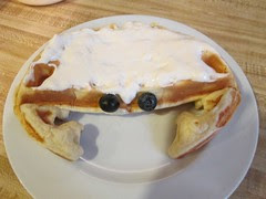 Crab Waffle by Teckelcar